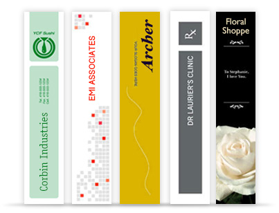 Custom printed bookmarks are effective