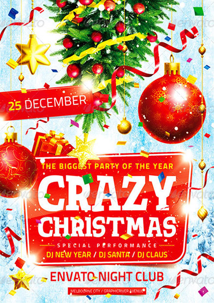 Joy Of Christmas Flyer Template | Flyer Templates