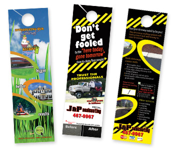 Door Hangers door hanger advertising: marketing secrets that get results.